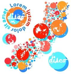 circles banner vector image