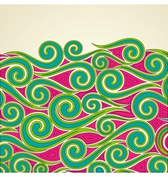 Colorful Swirls vector image