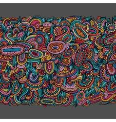 Ethnic decorative seamless pattern vector image