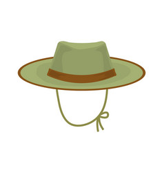 hunter hat vector image vector image