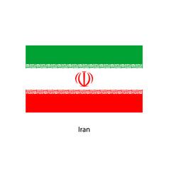 iran flag iran flag vector image
