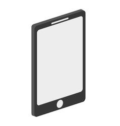 Modern cellphone icon vector