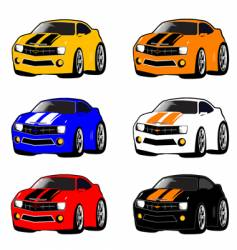 Mini cars vector