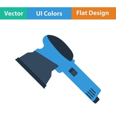 Flat design icon of grinder vector