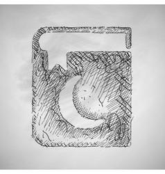 koran icon vector image