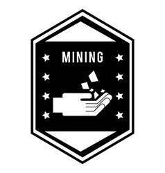 Mining area vector