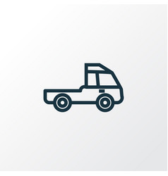 Prime-mover outline symbol premium quality vector