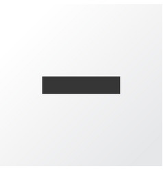 Remove icon symbol premium quality isolated minus vector
