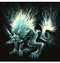 Werewolf vector