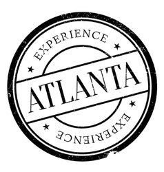 Atlanta stamp rubber grunge vector