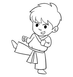 Character of kid style collection vector