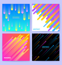 minimal geometric backdrops trendy posters vector image vector image