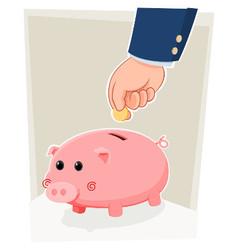Saving in a piggybank vector