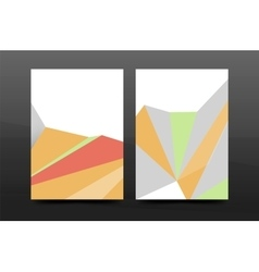 3d abstract geometric shapes Modern minimal vector image