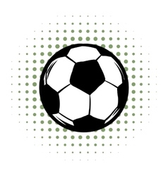 Soccer comics icon vector image vector image