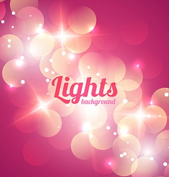 Bokeh abstract light background vector