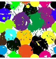 Colored blobs set vector