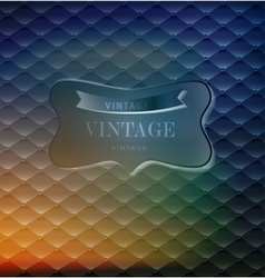 Abstract retro background for greeting card vector