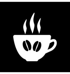 The coffee and cup icon coffee and cup symbol vector