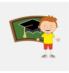 Small students design vector