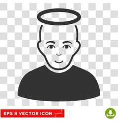 Holy man eps icon vector