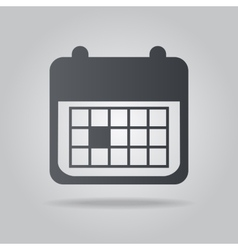 Icon calendar vector