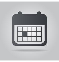 Icon calendar vector image vector image