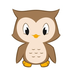Little Owl vector image vector image