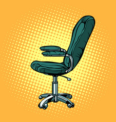 Office chair furniture for work and business vector