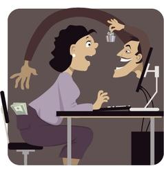 Online scam vector