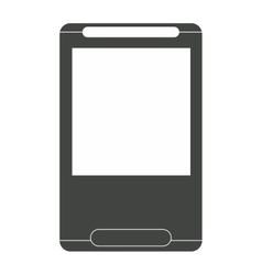 Cellphone with lid icon vector
