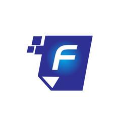 Digital paper initial f vector