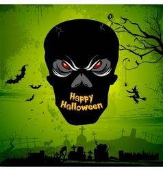 Halloween Skull vector image vector image