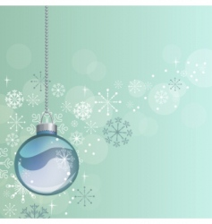 hanging ball vector image vector image