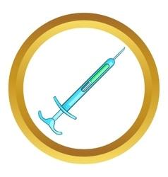 Syringe icon vector