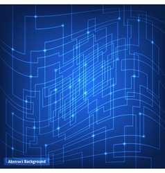 Virtual circuit technology background vector image vector image