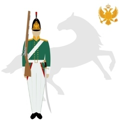 Dragoon vector image
