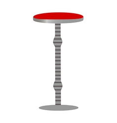 A red table vector