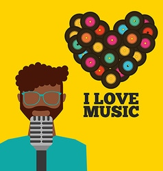 Music lifestyle design vector