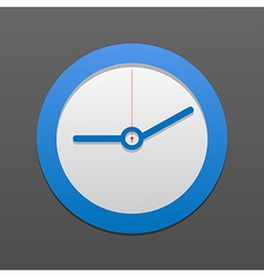 clock icon Eps10 vector image vector image