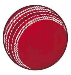 Cricket ball vector