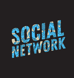 Social network design with isolated essential vector