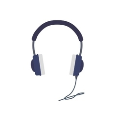 Headphone sound music technology icon vector