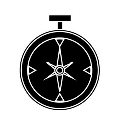Compass icon image vector