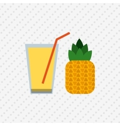 Healthy drink design vector