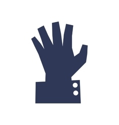 Human hand icon gesture design graphic vector