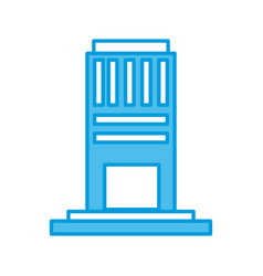 City building tower vector