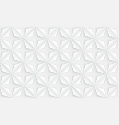 Seamless abstract flowers background geometric vector