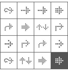 Arrow an icon9 vector image