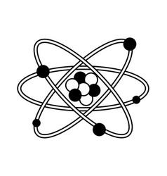 Atom representation icon image vector
